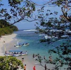 Pangandaran Beach, West Java, Indonesia